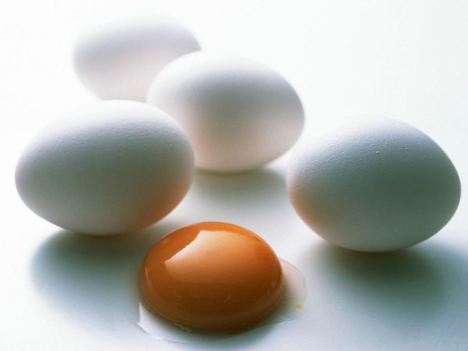 Аллергия на куриное яйцо.